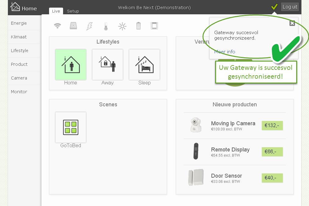 5 Succesvol5 Tutorial: Internet Gateway installeren
