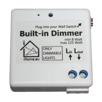 Built-In Dimmer