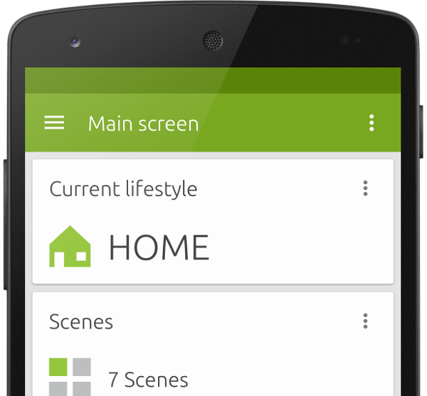 Awesome Android App Home Screen Design Images Interior